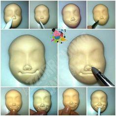 Как сделать рапунцель из мастики мк пошагово