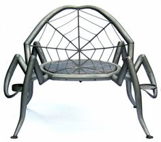 SPIDER CHAIR: Keith Raivo: Metal Chair - STUDIO SALE | Artful Home