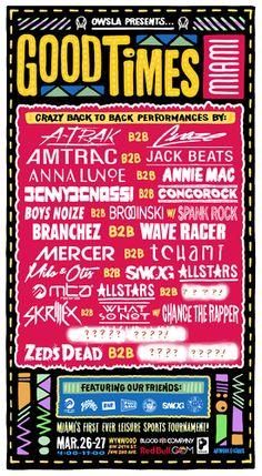 Good Times Miami - Tickets - Good Times Miami - Miami, FL - March 26th, 2014