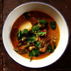 Red Thai Chili Soup