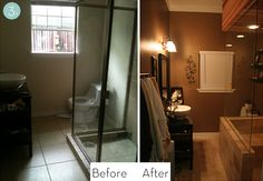 Great bathroom makeovers