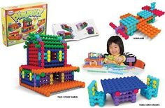 Popular Playthings Playstix, 150 Pieces by Popular Playthings