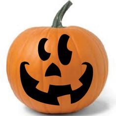 Silly pumpkin stickers from www.DecalJunky.com Perfect for your Jack-O-Lanterns. No carving required! #halloween #craft