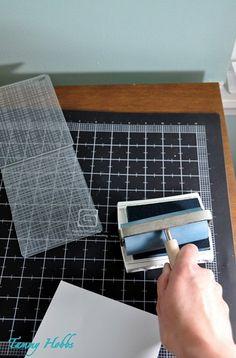 inking embossing folders