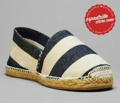 New Nautical espadrilles, made in Spain !!