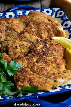 Parmesan Chicken Cutlets - A delicious and easy recipe that everyone should have in their recipe collection!