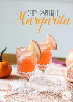 Spicy Grapefruit Margarita