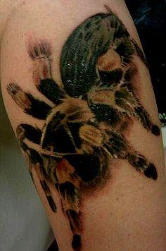 My Tarantula Tattoo :)
