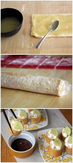 Key Lime Dessert Sushi