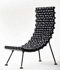 Amazing recycled furniture's by Leo Capote This is cool but it may me think of doing a similar design using woodturned parts.