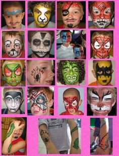 paint idea, face paintings, crown, easy kids facepainting ideas, kid face