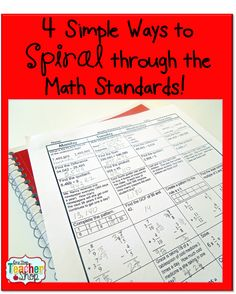 spiral review, spiral math