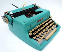 over-priced 1950's Royal typewriter.