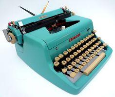 over-priced 1950's Royal typewriter.