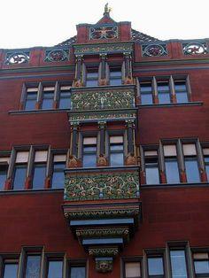 Basels Town Hall Basel, Switzerland