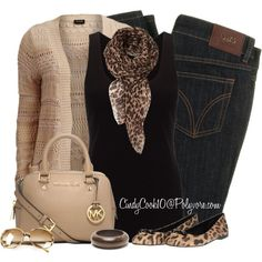 A fashion look from September 2014 featuring Jigsaw tops, VILA cardigans and D&G jeans. Browse and shop related looks.