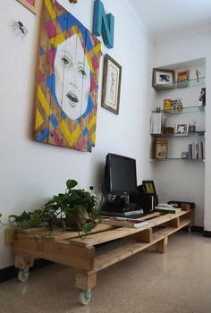 Arte sobre palés • Art on pallets   Javier Infante del Rosal