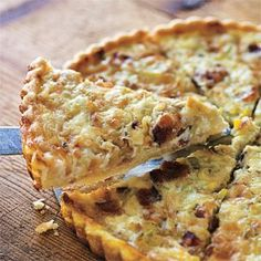 Bacon and Leek #Quiche