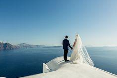 Fashionable Santorini After Wedding Shoot