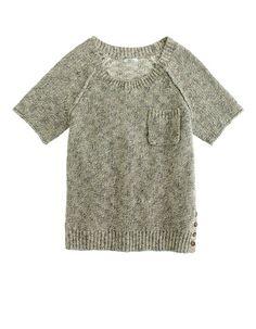 Madewell marbled sandbar sweater