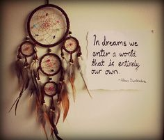 In  dreams quotes dreams life writing note dreamcatcher