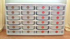 Workbox/storage shelf tutorial! school, workbox system, storage shelves, organization station, learning activities, lego storage, toy storage, scrap room, storage units