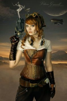 guns, steampunk, photography