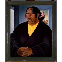 Pueblo Woman, Emil J. Bisttram, 1932, Dallas Museum of Art,