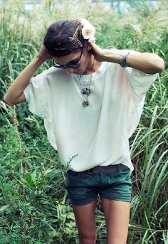 Pencey Shorts in Army