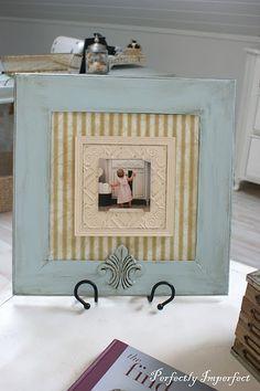 Super cute DIY frame for cheap