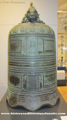 Ming Dynasty Bronze Temple Bell