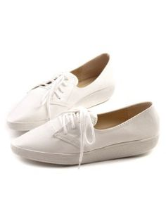 Shop White Lace-up F