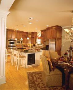 open kitchen and living room floor plans   Open Floor Plans, Open Home Plans - House Plans and More
