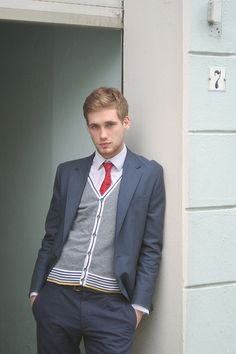 Men's Suit stripe pose, sweater, fashion, men style, outfit, men suits, men clothes, yellow stripe, man
