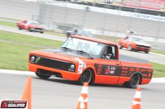 Bob Bertelsen received the @KNfilters Spirit of the Event invitation to the 2014 #OUSCI in his 1969 Chevrolet C10 pickup at #DriveUSCA Michigan