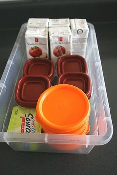 School lunch prep