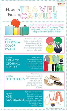 For those who overpack: | 22 Fashion Infographics You Need In Your Life