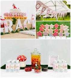 Enchanted Fairy Garden 3rd Birthday Party via Kara's Party Ideas KarasPartyIdeas.com #woodlandparty #fairygarden #fairyparty #partyideas #partydecor