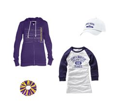 Long sleeves will keep you warm as fall descends upon Harrisonburg!  Grab a cute jacket for when the sun starts to fall, a hat to protect you from the autumn breezes and a wrist scrunchie for just that added touch of JMU spirit...all at the JMU Bookstore!