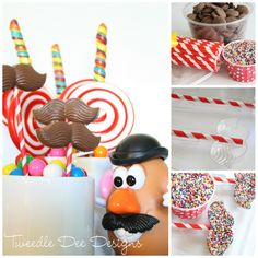 birthday parties, toy stori, birthday idea, chocol mustach, 2nd birthday, toy story party, stori parti, parti idea, potato head