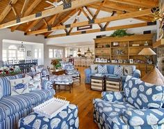 Open living nautical style: http://www.completely-coastal.com/2014/10/coastal-pastels.html