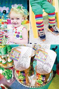 Rainbow St. Patricks Day Party