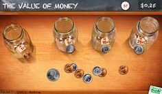 Best math apps for summer review -- Peter Pig's Money Counter app. Better (or at least less germ-ier) than playing with real money.