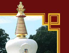 Tibetan Mongolian Buddhist Center and Kumbum Chamtse Ling Temple - Bloomington, Indiana, USA