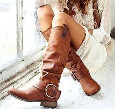 Steve Madden boots.- LOVE!