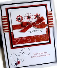 Very pretty. Red, white & black. What stamp set is the swirls?