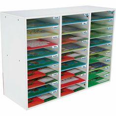 Really Good Classroom Mail Center – 27 Slots