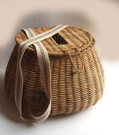 Vintage fisherman's basket.