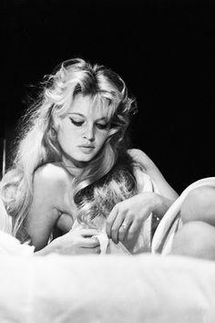 Brigitte Bardot photographed by Peter Basch, 1956.
