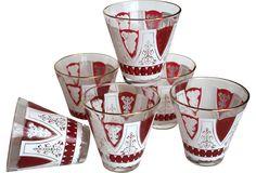 Filigree Cordial Glasses, Set of 6  $95.00